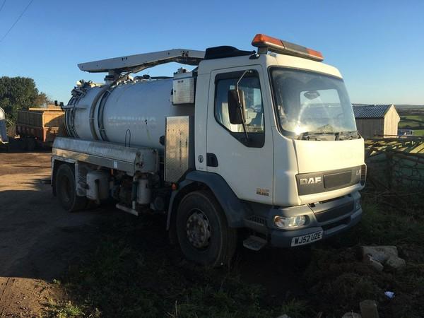 Vacuum tanker for sale uk