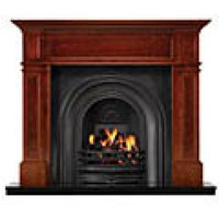 Complete fireplace