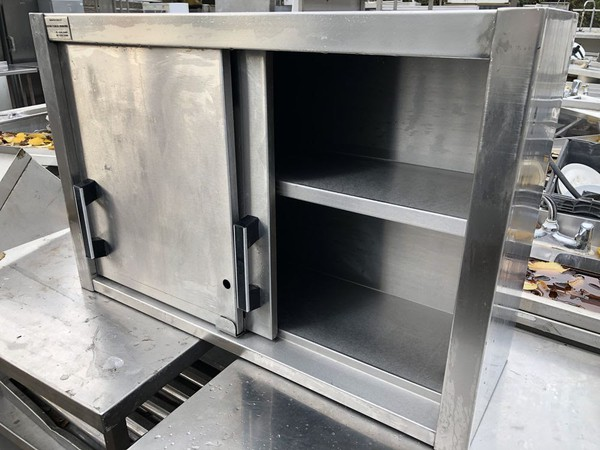 Commercial wall cupboard