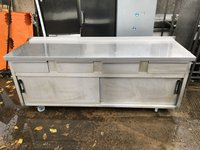 Stainless steel ambient cupboard