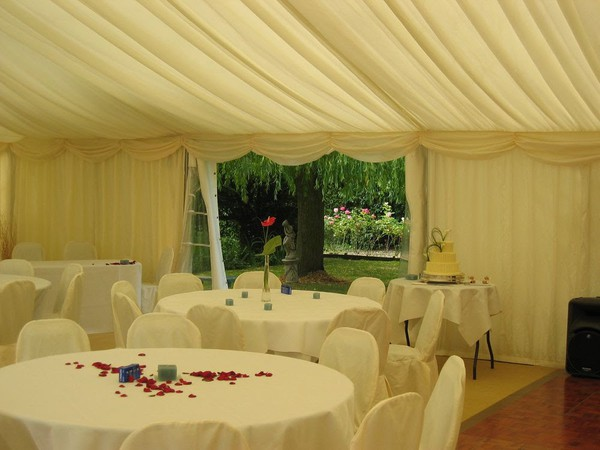 Used clear span marquee