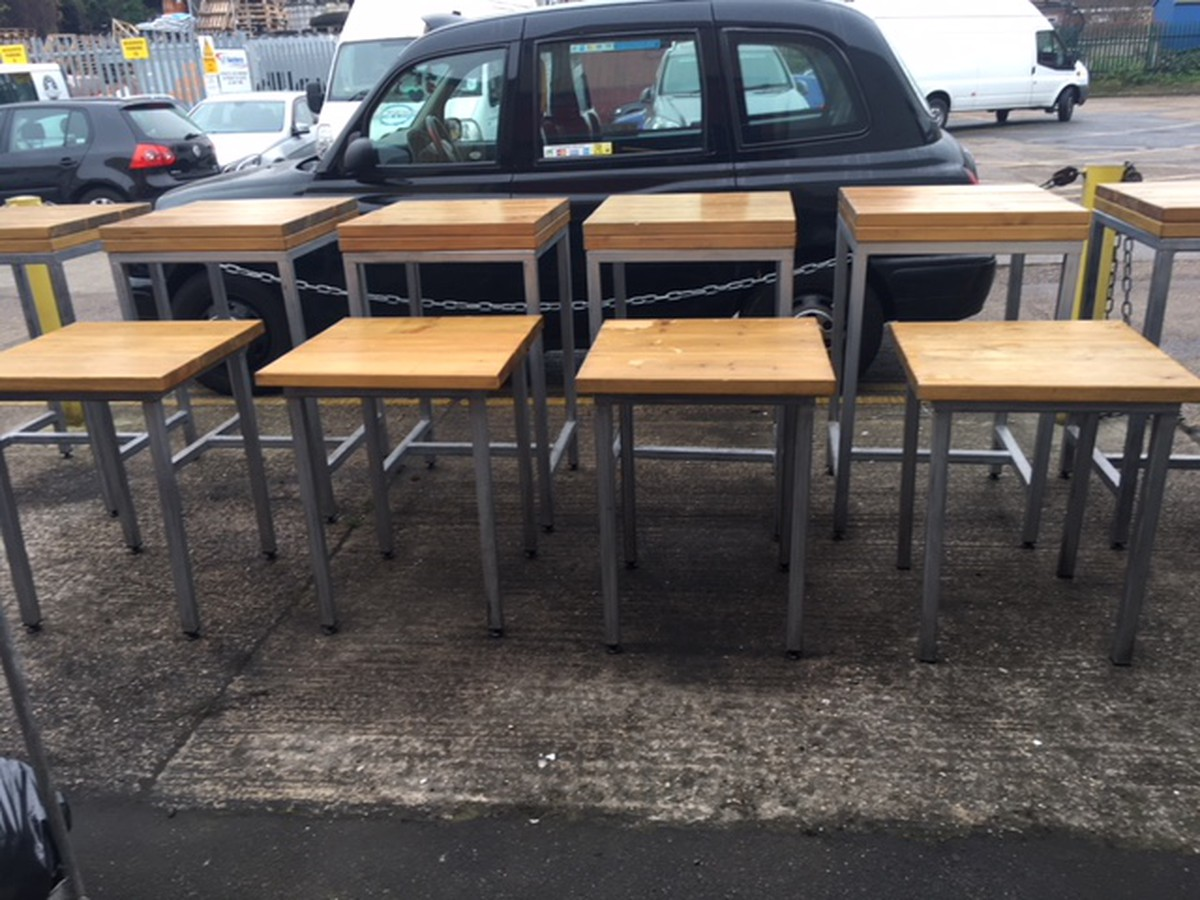 Secondhand pub equipment restaurant or cafe tables