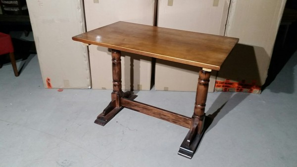 Solid beech twin tables for sale
