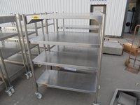 Steel 4 tier rack