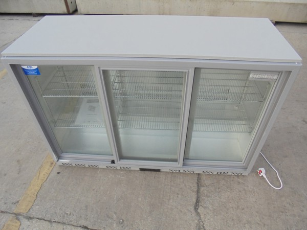 Glass bottle fridge