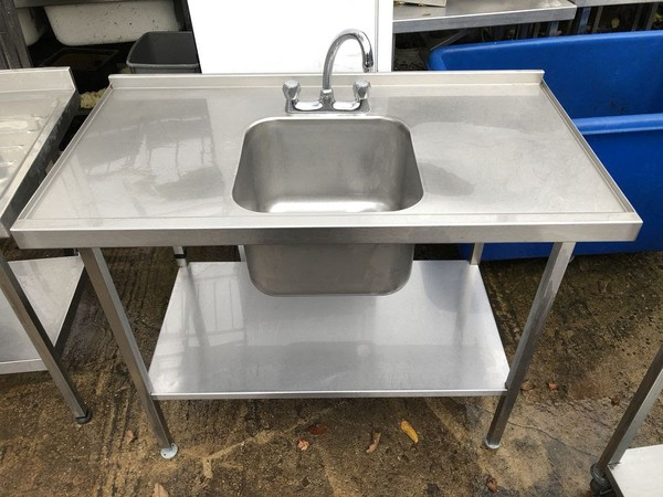 Steel single bowl sink for sale