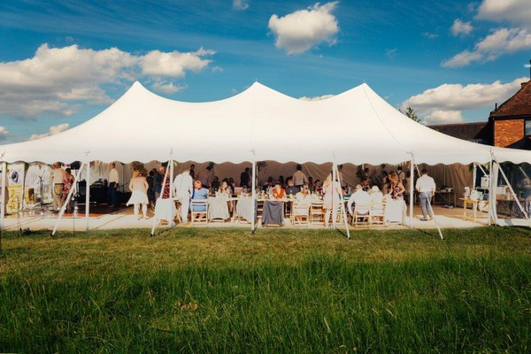 Marquee wedding hire marquee