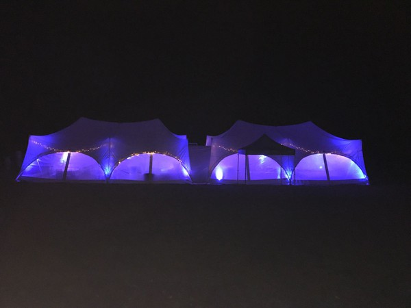 Capri marquee at night
