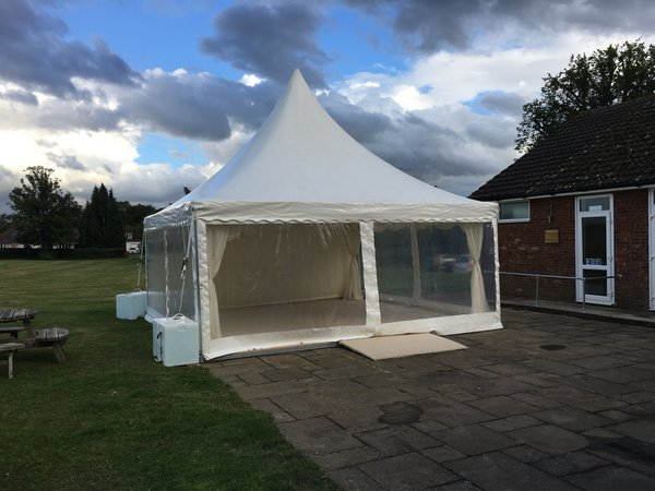 Custom Covers secondhand marquees