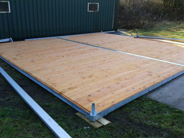 Secondhand sub base floor for marquees