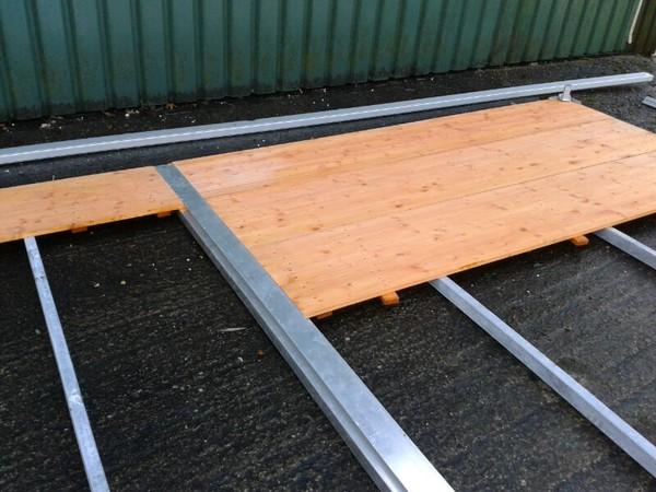 Steel Sub-Base Floor