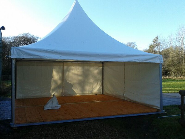 used pagoda marquee