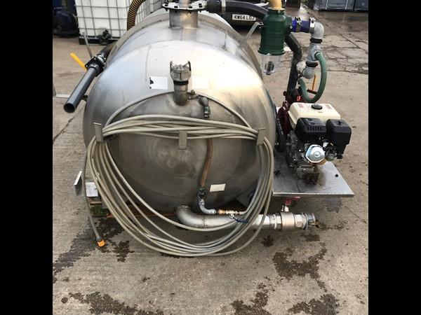 180gln waste 100gln fresh water tank