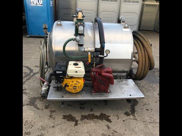 Refurbished 180gln waste 100gln fresh water pumper unit Brand new Villiers engine and battioni mec 2000 pump
