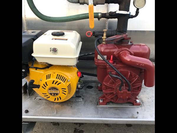 Villiers engine and Battioni mec. 2000 pump