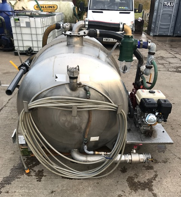 Secondhand water unit