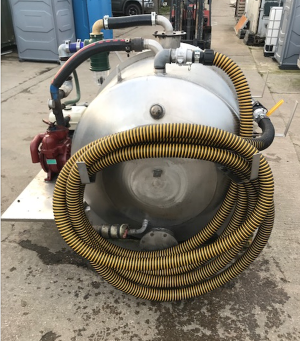 Stainless steel pumper unit