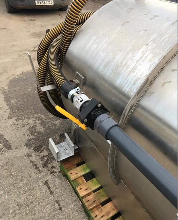 Used steel pump unit