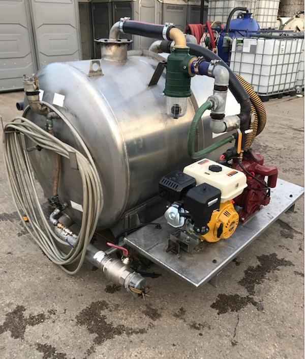 Water pumper unit UK