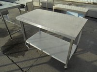 Used Stainless Steel Table (5977)