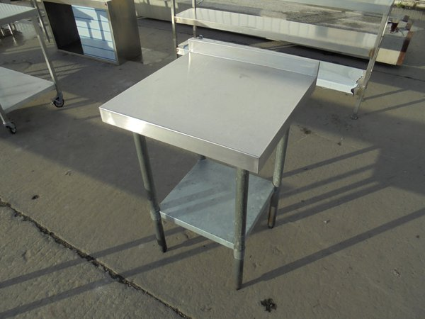 Used Stainless Steel Table (5979)