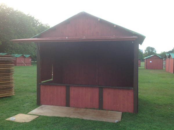 Market stall hut for sale