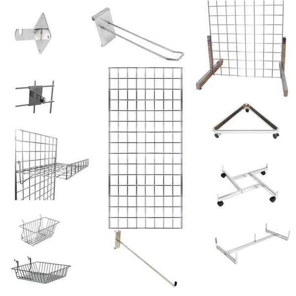 Grid wall mesh