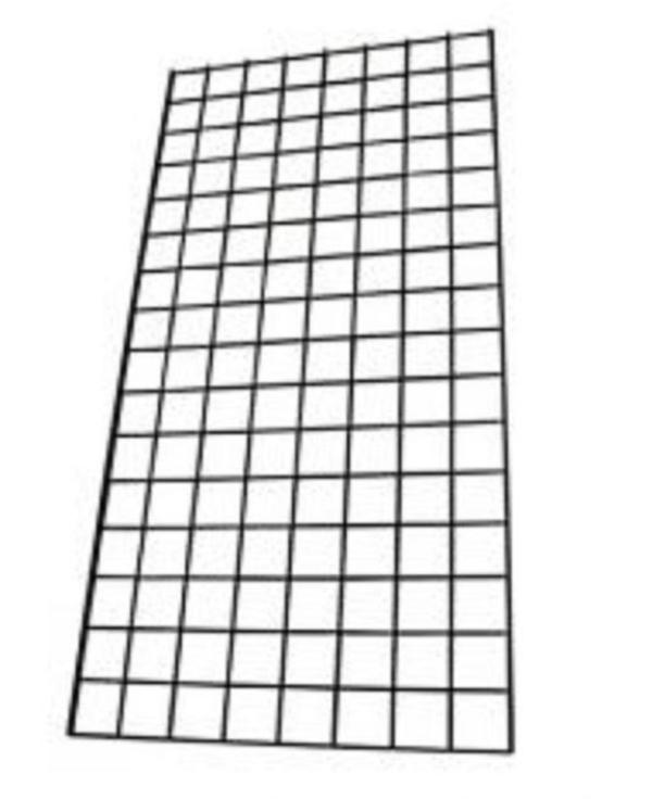 Mesh wall grid