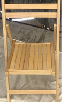 Beech folding chairs