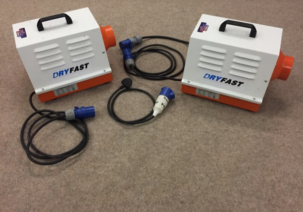 Dry fast heaters