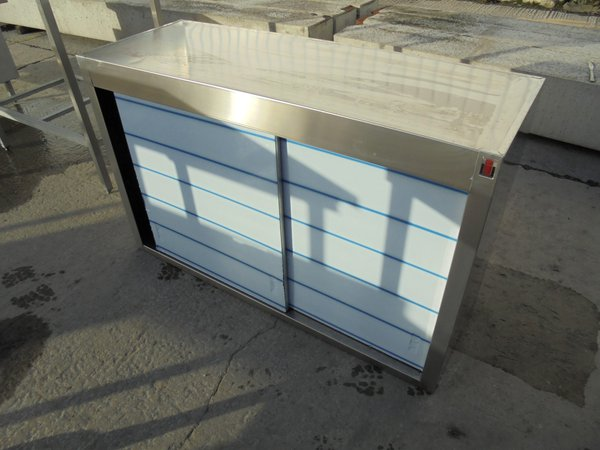 Used Inomak Stainless Steel Wall Cabinet