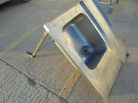 Used Stainless Steel Single Bowl Dishwasher Sink	(5985)