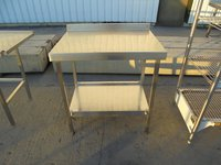 Used Stainless Steel Table (5991)