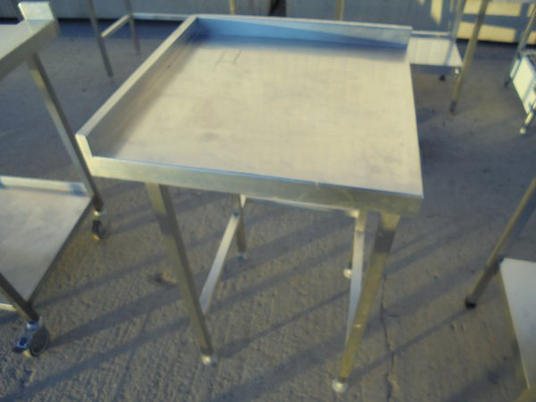 Used Stainless Steel Table (5989)