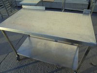 Used Stainless Steel Table (5988)