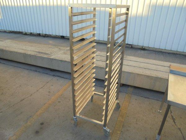 Used Stainless Steel Bakery Rack / Trolley (5986)