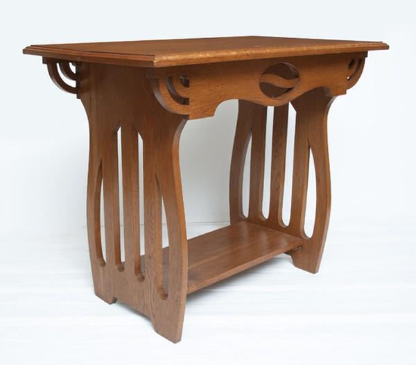 Oak Arts & Crafts Side Table c.1890