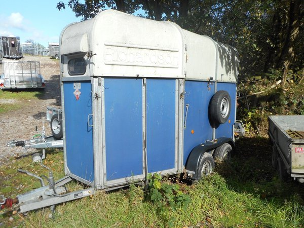 Richardson Double Pony Or Horse Trailer