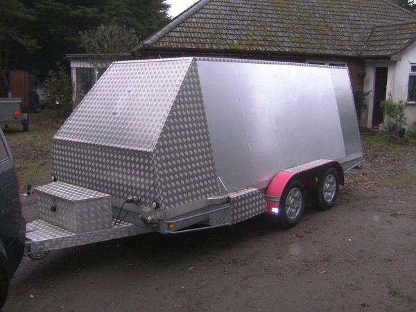 2012  14Ft Alloy Transporter 2600Kg Shuttle / Box Trailer