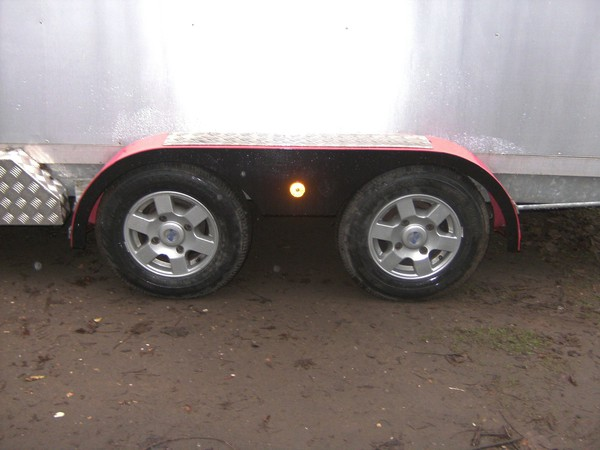 2012 Bespoke 14Ft Alloy Transporter 2600Kg Shuttle / Box Trailer