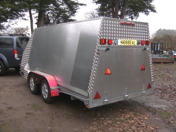 Bespoke 14Ft Alloy Transporter 2600Kg Shuttle / Box Trailer