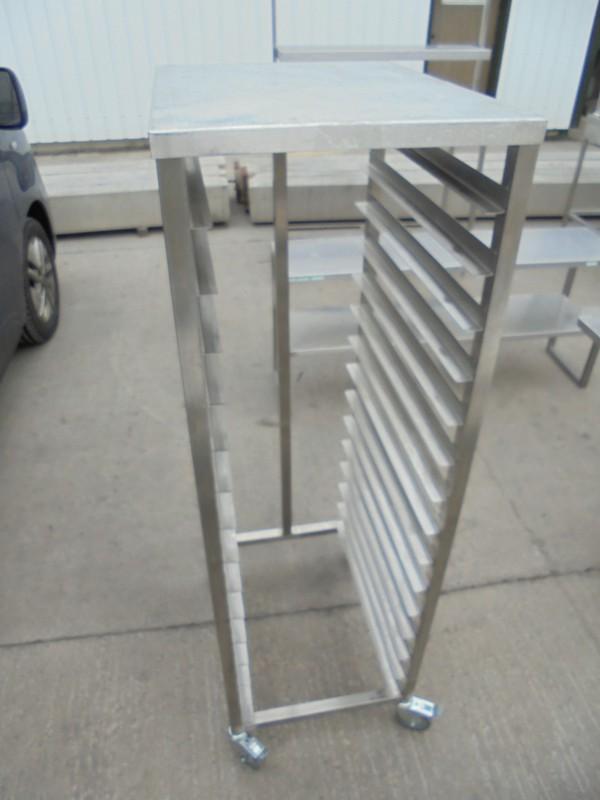 Used Stainless Steel Bakery Trolley / Rack (6000)