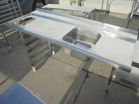 Used dishwasher sink