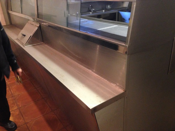 Fish and chip shop range for sale
