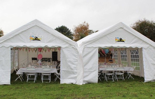 Used pvc marquee