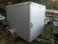Indespension 6Ft X 4Ft 5Ft High Silver Box Van Trailer C1982