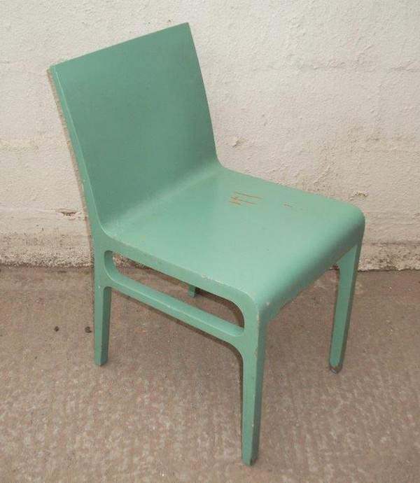 30x Green Shabby Chic Chairs (CODE DC 582A)