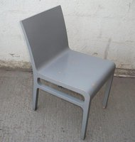 18x Grey Shabby Chic Chairs (CODE DC 552A)