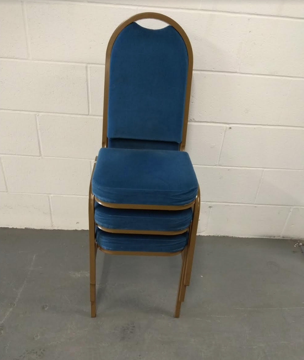 Used banqueting chairs