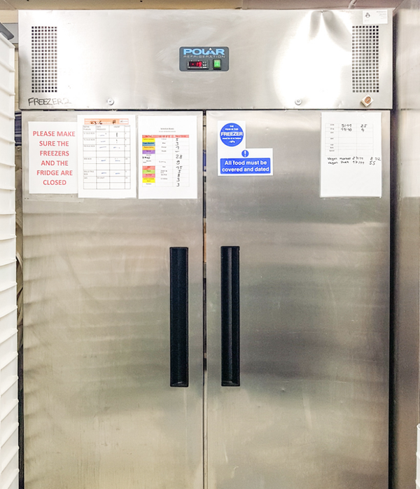 Used commercial freezer